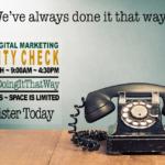Friday, May 26th: 2017 Digital Marketing Sanity Check