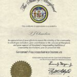 PJ Chambers, WebIXI, Again Recognized by the State of Maryland
