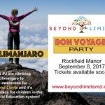 Friday, September 8th: Beyond Limits' Bon Voyage Fundraiser